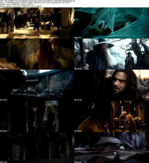The Hobbit-The Desolation of Smaug 2013 1CD DVDScr Xvid MP3 [Phantom]
